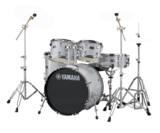 YAMAHA / RDP0F5 SLGシルバーグリッター ライディーン 20BD ドラムシェルとハードウェアセット / シンバル別売 商品画像