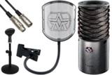 Aston Microphones アストンマイクロフォンズ / AST-ORIGIN(N)【純正ポップフィルター&卓上スタンド・ケーブルセット!】コンデンサーマイク 商品画像
