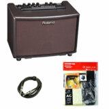 Roland / AC-33-RW Acoustic Chorus 【ローズウッド調仕上げ】【エレアコ用スターターセット】【アコースティックギター用アンプ/電池駆動可能】 商品画像