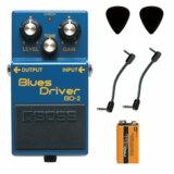 BOSS / BD-2 Blues Driver 【パッチケーブル2本+PROCELL+ピック2枚】 ボス エフェクター オーバードライブ BD2 商品画像