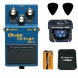 BOSS / BD-2 Blues Driver 【ピック+STS3(ケーブル)+PROCELL+スリーブケースセット】 ボス エフェクター オーバードライブ BD2 商品画像