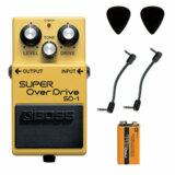 BOSS / SD-1 Super Over Drive 【パッチケーブル2本+PROCELL+ピック2枚セット】 ボス オーバードライブ エフェクター SD1 商品画像