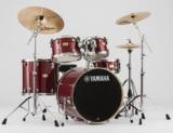 YAMAHA ドラムセット SBP2F5I CRクランベリーレッド ステージカスタム 22BD/スタンダードセット+i Familyシンバルセット 商品画像