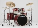 YAMAHA / SBP2F5AZM18 CRクランベリーレッド ステージカスタム 22BD/スタンダードセット+Aジルジャン ミディアム 3シンバルセット 商品画像