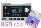 BOSS ボス / MICRO BR BR-80 【8GB SDカードセット!】 デジタルレコーダー 商品画像