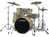 YAMAHA / ステージカスタム ドラムセット SBP2F5S-NW(ナチュラルウッド) 22BD/スタンダードセット+Sジルジャンシンバルセット 商品画像