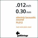 gallistrings ガリストリングス / Plain Steel PS012 012 ギター弦 バラ弦 商品画像