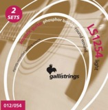 gallistrings / LS1254(.012?.054ゲージ) Light 2セットパック ガリストリングス アコースティックギター弦 商品画像