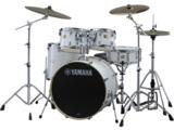 YAMAHA / ステージカスタム ドラムセット SBP2F5S-PW(ピュアホワイト) 22BD/スタンダードセット+Sジルジャンシンバルセット 商品画像