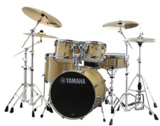 YAMAHA / SBP0F5AZM18 NWナチュラルウッド ステージカスタム 20BD/スタンダードセット+Aジルジャン ミディアム 3シンバルセット 商品画像