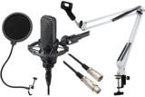 audio-technica / AT4040 (ショックマウント:AT8449a付属) -3m純正マイクケーブル、ポップブロッカー、白アームスタンド付- 商品画像