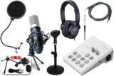 Roland / GO:LIVECAST -コンデンサーマイクMPM-1000J、ヘッドフォン、ポップブロッカー、卓上スタンド、AUXケーブル付の高音質配信フルセット- 数量限定! 商品画像