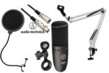 AKG / P120 安心コンデンサーマイクセット01 -3mマイクケーブル、ポップブロッカー、白アームスタンド付- 商品画像