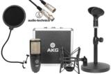 AKG / P220 安心コンデンサーマイクセット02 -3mマイクケーブル、ポップブロッカー、卓上スタンド付- 商品画像