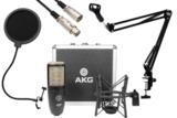 AKG / P220 安心コンデンサーマイクセット04 -3mマイクケーブル、ポップブロッカー、黒アームスタンド付- 商品画像