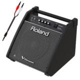 Roland 電子ドラム用モニタースピーカー PM-100 接続ケーブルセット 商品画像