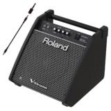Roland 電子ドラム用モニタースピーカー PM-100 ステレオミニプラグケーブルセット 商品画像