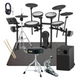 Roland 電子ドラム TD-17KVX-S TAMAスターターパック YAMAHA2.1chスピーカーとSELVAマットセット 商品画像