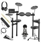 YAMAHA / DTX432KS 電子ドラム ヤマハ純正ヘッドホンとスティックセット 商品画像
