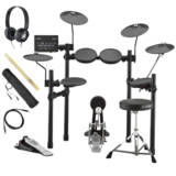 YAMAHA / DTX452KUPGS 電子ドラム ヤマハ純正ヘッドホンとスティックセット 商品画像
