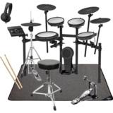 Roland 電子ドラム TD-17KVX-S PEARLシングルキックペダル・スターターパック SELVAマットセット 商品画像