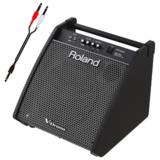 Roland 電子ドラム用モニタースピーカー PM-200 接続ケーブルセット 商品画像
