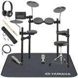 YAMAHA / DTX402KS 電子ドラム ヤマハ純正ヘッドホンとスティックとマットセット 商品画像