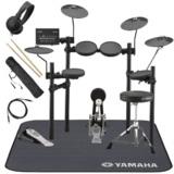 YAMAHA / DTX432KUPGS 3シンバル 電子ドラム 純正マット付き オリジナルスターターパック 商品画像