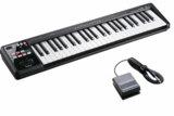 Roland ローランド / A-49 BK ブラック 【DP-2ペダルセット!】 49鍵盤MIDIキーボード 商品画像