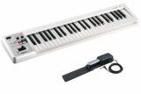 Roland ローランド / A-49 WH ホワイト 【DP-10ペダルセット!】 49鍵盤MIDIキーボード 商品画像