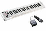Roland ローランド / A-49 WH ホワイト 【DP-2ペダルセット!】 49鍵盤MIDIキーボード 商品画像