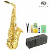SELVA (セルバ) 初心者向けアルトサックス入門セット ALTOSAX SAS-100 【管楽器初心者】 商品画像