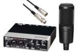 STEINBERG / UR22MK2 & AT2020 安心DAWセット -3m純正マイクケーブル付- 商品画像