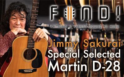 FIND! Vol.5 Jimmy Sakurai Special Selected D-28