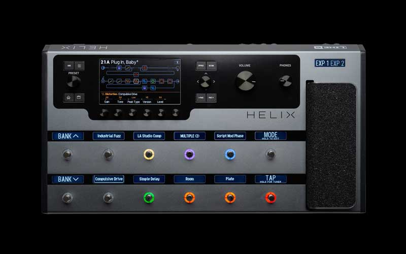 Line 6 - Helix Floor Space Gray