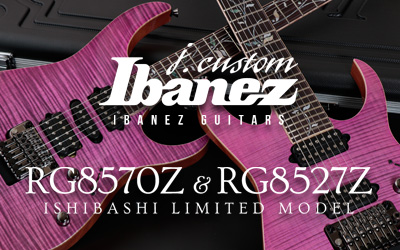 Ibanez Guitars j.custom x Ishibashi Limited Model