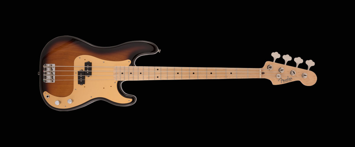 MADE IN JAPAN HERITAGE 50s PRECISION BASS   Maple Fingerboard 2-Color Sunburst