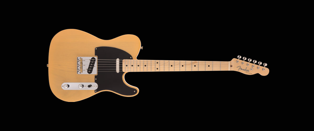 MADE IN JAPAN HERITAGE 50s TELECASTER   Maple Fingerboard Butterscotch Blonde