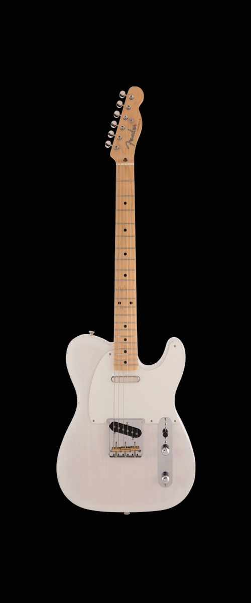 MADE IN JAPAN HERITAGE 50s TELECASTER   Maple Fingerboard White Blonde