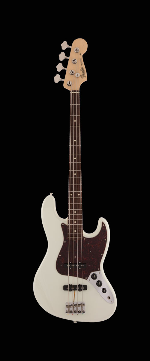 MADE IN JAPAN HERITAGE 60s JAZZ BASS   Rosewood Fingerboard Olympic White