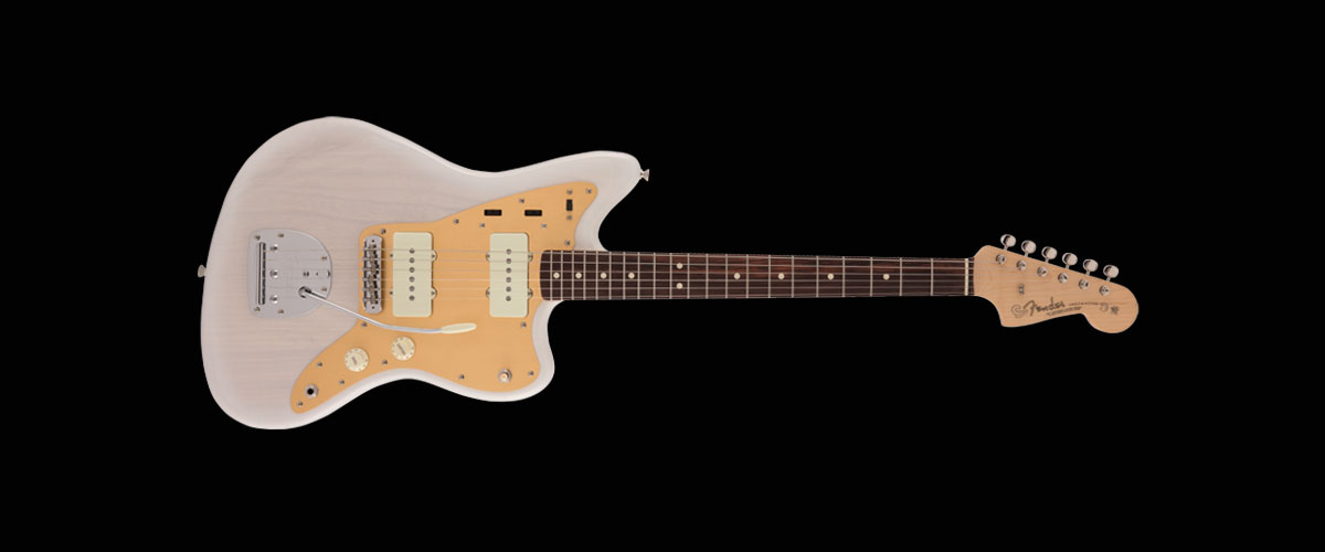 MADE IN JAPAN HERITAGE 60s JAZZMASTER   Rosewood Fingerboard White Blonde