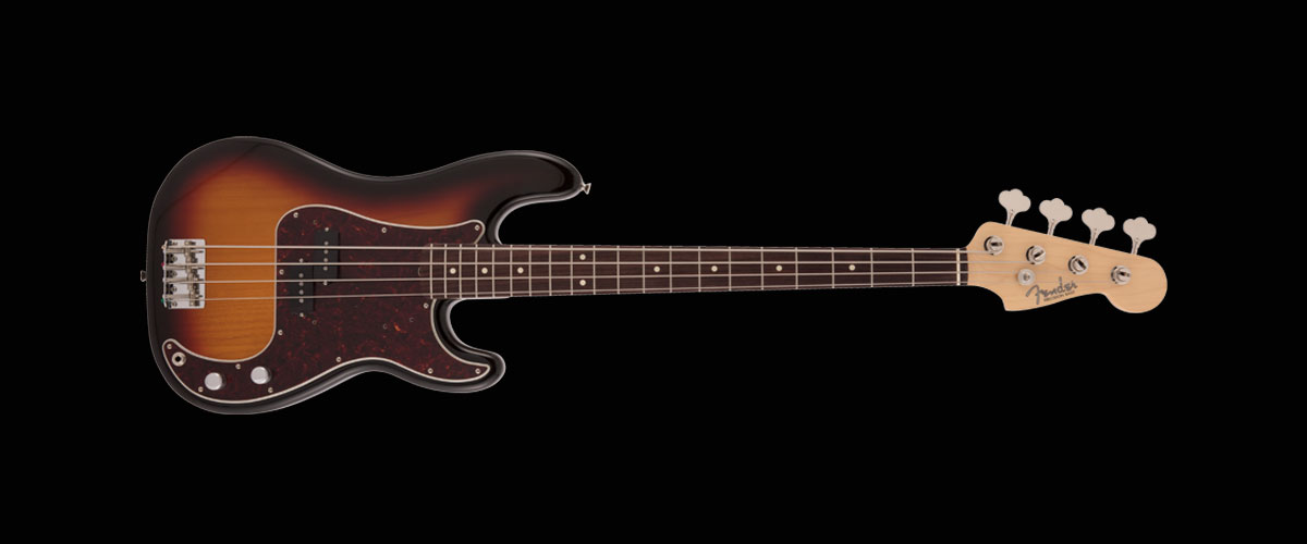 MADE IN JAPAN HERITAGE 60s PRECISION BASS   Rosewood Fingerboard 3-Color Sunburst