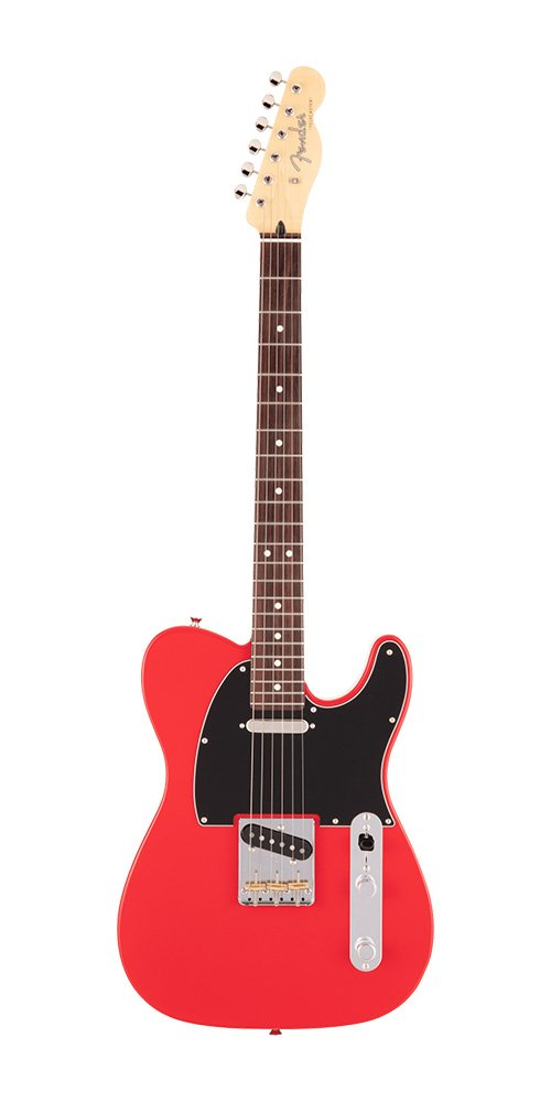 2021 MADE IN JAPAN HYBRID II TELECASTER Rosewood Fingerboard Modena Red