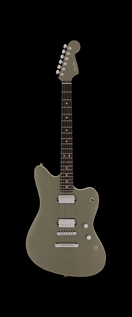 2019 MADE IN JAPAN MODERN JAZZMASTER   Selected Rosewood Jasper Olive Metallic
