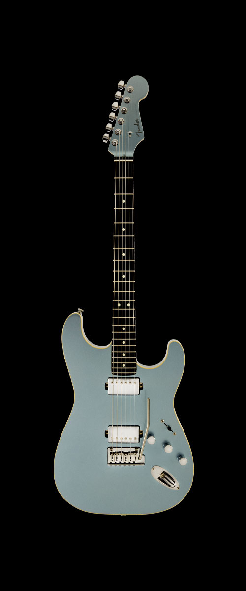 2019 MADE IN JAPAN MODERN STRATOCASTER HH  Selected Rosewood Mystic Ice Blue