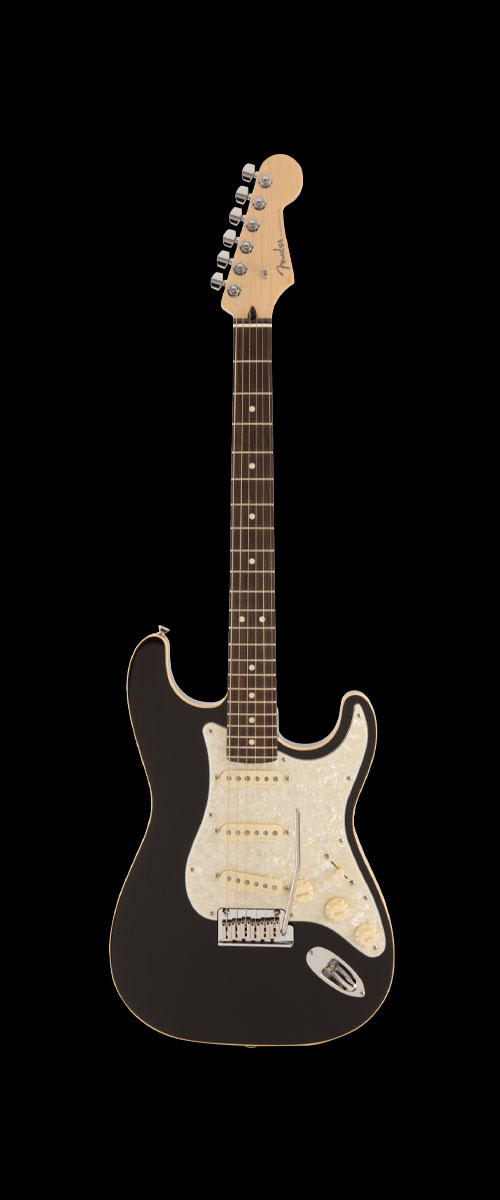 2019 MADE IN JAPAN MODERN STRATOCASTER   Selected Rosewood Black