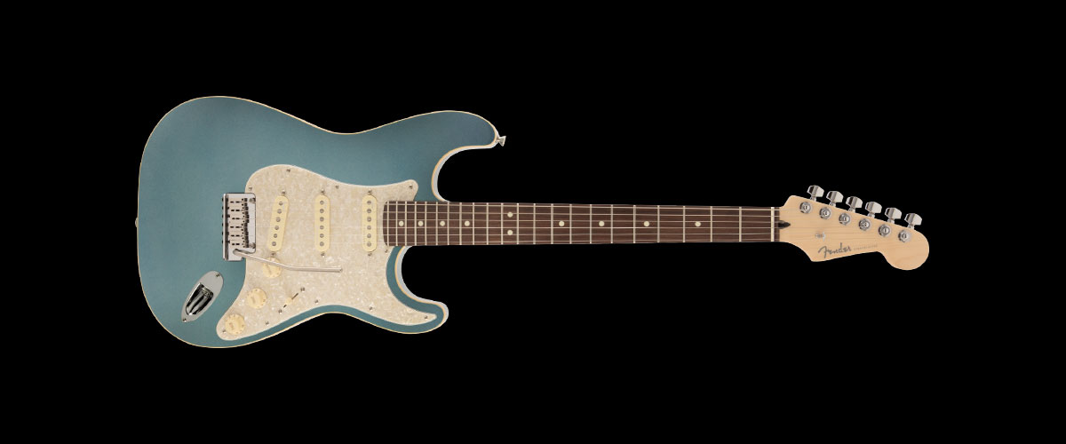 2019 MADE IN JAPAN MODERN STRATOCASTER   Selected Rosewood Mystic Ice Blue