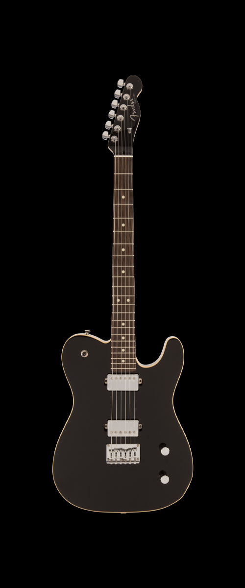 2019 MADE IN JAPAN MODERN TELECASTER HH  Selected Rosewood Black