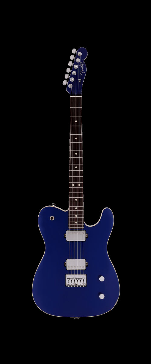 2019 MADE IN JAPAN MODERN TELECASTER HH  Selected Rosewood Deep Ocean Metallic
