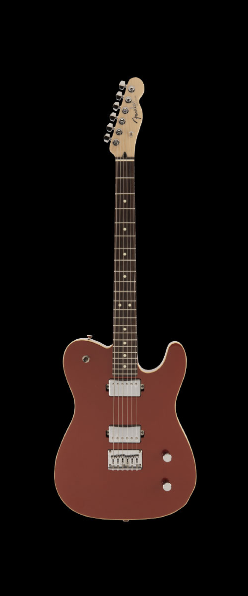 2019 MADE IN JAPAN MODERN TELECASTER HH  Selected Rosewood Sunset Orange Metallic